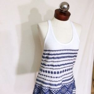 Sam Edelman Tops - SAM EDELMAN embroidered boho tank top m  SIZE M  E